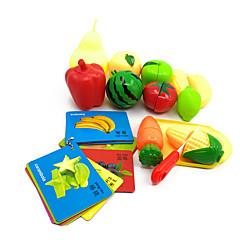 Hrajeme si na... Magnetické hračky Vzdělávací hračka Toy kuchyňských sestav Toy Foods Hračky Zelenina Jídlo Friut Dětské Pieces