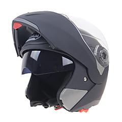 halpa Kypärät ja maskit-Avokypärä Aikuiset Unisex Moottoripyörä Helmet Iskunkestävä / Naarmuuntumaton / Dual Screen