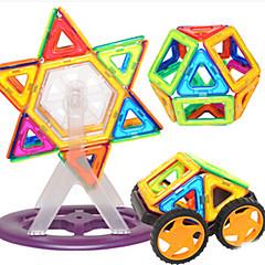 אבני בניין בלוקים מגנטיים מגדיר בניין מגדיר מכוניות צעצוע צעצועים עגול חתיכות בגדי ריקוד ילדים נערים מתנות