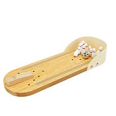 tanie Gry i puzzle-Kręgle na biurko Piłki Piłki do skakania Mini Drewno Nowość Sztuk Dla dzieci Unisex Dla chłopców Dla dziewczynek Zabawki Prezent