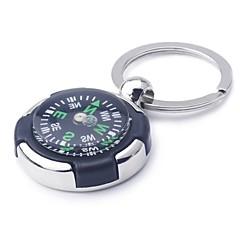 Ziqiao kompassi avaimenperä uutuus avaimenperä ketju avaimenperä sinkki metalliseos lahja