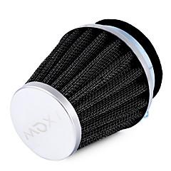 Ziqiao auto accessoires luchtfilters hoge kwaliteit ijzeren en sterke buigbare rubber universele 1 stuks 54mm paddestoel hoofd motorfiets