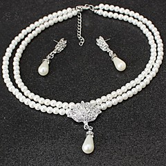 The New Pearl Necklace Set Wedding Party Elegant Feminine Style