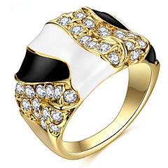 levne -Dámské Široké prsteny Základní design láska Elegantní Sexy Módní Punkový styl Přizpůsobeno Hip-hop Cute Style luxusní šperky Klasický