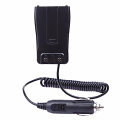 billige Walkie-talkies-bil lader batteri eliminator adapter for baofeng bf-888s 777 666s radio walkie talkie tilbehør m / lyserplugg