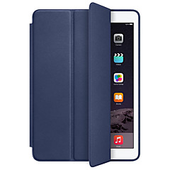 Para Case Tampa Antichoque Auto Dormir/Despertar Corpo Inteiro Capinha Côr Sólida Rígida Couro Ecológico para Apple IPad pro 10.5 iPad