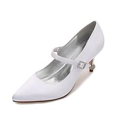 dyeable wedding shoes low heel. women\u0027s wedding shoes comfort basic pump spring summer satin party \u0026 evening dress rhinestone sparkling dyeable low heel