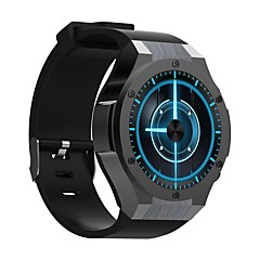 billige Smartklokker-Smartklokke YYH2 til Android iOS 3G Bluetooth GPS Sport Vanntett Pulsmåler Pekeskjerm Pulse Tracker Stopur Pedometer Aktivitetsmonitor / Kalorier brent / Håndfri bruk / Søvnmonitor / Finn min enhet