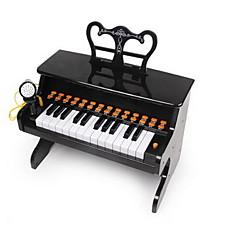 Brinquedo Educativo Instrumentos de brinquedo Brinquedos Quadrada Piano Instrumentos Musicais Plásticos Plástico Duro Peças Criança