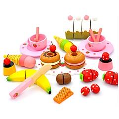billiga Leksakskök och -mat-Toy köksutrustning / Leksaksmat / Låtsaslek Grönsaker / Frukt / Frukt och grönt Plastik Flickor Barn Present