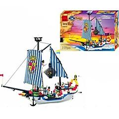 baratos -ENLIGHTEN Blocos de Construir 310 pcs Pirata Navio / Piratas / Navio pirata Dom