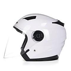 하프헬맷 요새 릴렉스드 피트 튼튼한 오토바이 헬멧