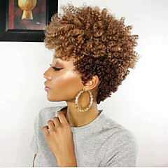 voordelige Haarvlechten-Vlechthaar Gekruld Pre-loop Haak Braids Synthetisch haar 20-stuks, 20 wortels / pakket haar Vlechten Ombre Haarvlechten / Gehakte Braids Met Menselijk Haar