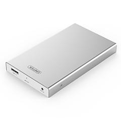 Unitek y-3369 usb3.0 to sata3.0 2.5inch 5gbps liga de alumínio caixa rígida branca com indicação de luz led