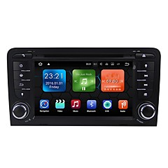 cheap Car DVD Players-7inch 2 DIN 1024 x 600 Android 7.1 Car DVD Player  for Audi High Definition / Bluetooth / Built-in Bluetooth 617 AVI / CD / VCD