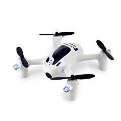 billige Fjernstyrte quadcoptere og multirotorer-RC Drone Hubsan H107D+ 4 Kanal Med HD-kamera 1080P Fjernstyrt quadkopter FPV / LED Lys / Flyvning Med 360 Graders Flipp Fjernstyrt