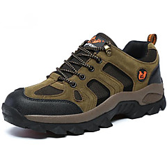 Running Shoes Mountaineer Shoes Men's Anti-Slip Leisure Sports Low-Top Suede Washable Latex Rubber Hiking Running