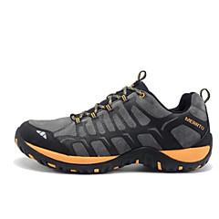 ランニング・シューズ 登山靴 男性用 アンチスリップ 防雨 耐久性 通気性 レジャースポーツ ローカット レザー ラバー ハイキング ランニング