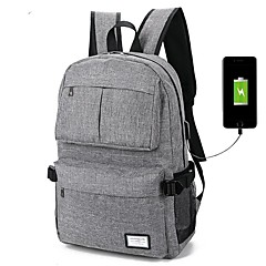 "cheap Laptop Bags-100% Polyester Solid Backpacks 14"" Laptop"