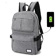 voordelige -laptop rugzak recreatieve reis tas usb oplaadbaar