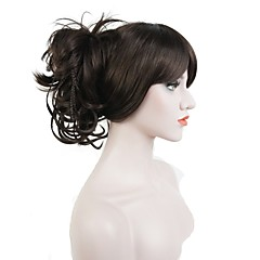 cheap Hair Pieces-Ponytails / Hair Piece Synthetic Hair Hair Piece Hair Extension Straight / Classic Daily
