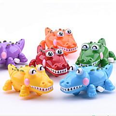 billige Originale moroleker-Lekebiler Trekk-opp-leker Pedagogisk leke Fisk Krokodillemønster Plastikker Deler Unisex Barne Gave