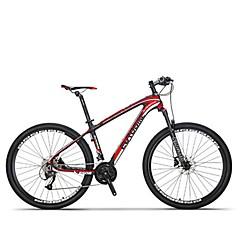 אופני הרים רכיבת אופניים 27 מהיר 27.5 אינץ SHIMANO M370 דיסק בלימה מזלג שיכוך נגד החלקה סגסוגת אלומיניום סיבי פחמן + EPS Aluminum Alloy