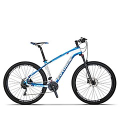 אופני הרים רכיבת אופניים 30 מהיר 27.5 אינץ SHIMANO M610 דיסק בלימה מזלג שיכוך נגד החלקה סגסוגת אלומיניום סיבי פחמן + EPS Aluminum Alloy