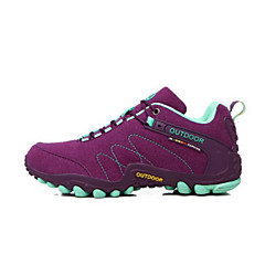 Chaussures de Course Chaussures de montagne Femme Antidérapant Etanche Vestimentaire Respirabilité Sport de détente Basses Daim Latex