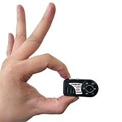 Mini Videokamera Høy definisjon Bærbar Bevegelsessensor Vidvinkel Nattsyn