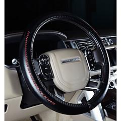 billige Rattovertrekk til bilen-Rattovertrekk til bilen ekte lær 38 cm Lilla / kaffe / Svart / Rød For Honda Odyssey / CRV / Avancier Alle år