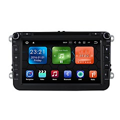 cheap Car DVD Players-Android 7.1.2 Car DVD Player Multimedia System 8 Inch Quad Core Wifi EX-3G DAB for VW Magotan Focus 2007-2011 Golf 5 Golf 6 Caddy Polo V 6R WE8015