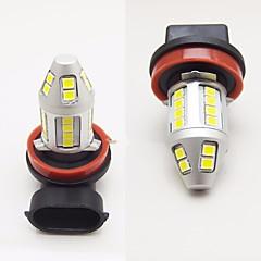 billige Tåkelys til bil-2pcs bilfabrik design super lys 120w 6000lm led tåkelys h1 h3 h4 h7 h8 h9 h10 h11 9005 9006 kan-buss feil ledet tåkelykt