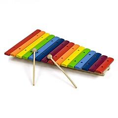 tanie Instrumenty dla dzieci-Cymbałki Klocki Zabawka edukacyjna Instrumenty muzyczne Perkusja DIY Zabawa Oyuncak Müzik Aleti Dla dziewczynek Dla chłopców Zabawki