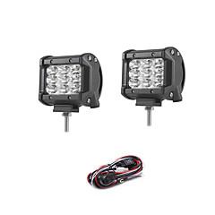 cheap -2pcs Car Light Bulbs W SMD 3030 2700lm lm 9 Working Light