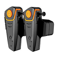 bt-s2-2 1 paar motor bluetooth headset, motorhelm intercom intercom mp3-speler / walkie-talkie