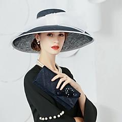 cheap Party Headpieces-Hats Headpiece With Imitation Pearl/Rhinestone Wedding/Party Headpiece