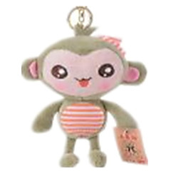 키 체인 장난감 원숭이 남여 공용 조각