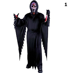 aikuinen halloween puku cosply vaatteet terroristin vaatteet zombie vaatteet kuolema haamu