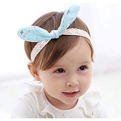 billige Babytøj-Børne Hår Tilbehør Alle årstider - Polyster Blå Lyserød Rosa Lyseblå