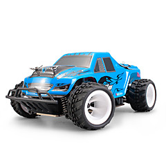 billige Fjernstyrte biler-Radiostyrt Bil WL Toys P929 2.4G 4WD Høyhastighet Driftbil Off Road Car Truggy Buggy (Off- Road) 1:28 Børste Elektrisk 30 KM / H