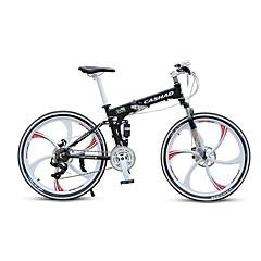 אופני הרים מתקפל אופניים רכיבת אופניים 21 מהיר 700CC/26 אינץ' Shimano דיסק בלימה שמן מזלג שיכוך אלומיניום אלומיניום Aluminum Alloy
