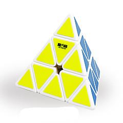 tanie Kostki Rubika-Kostka Rubika QI YI Pyraminx Gładka Prędkość Cube Magiczne kostki Puzzle Cube Zabawa Kwadrat Prezent Klasyczny Dla obu płci