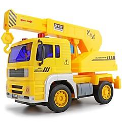 olcso -LED világítás Játékhangszerek Jármű Toy Playsets Játékautók Toy Teherautók és építőipari járművek Játékok Fejlesztő játék Munkagépek