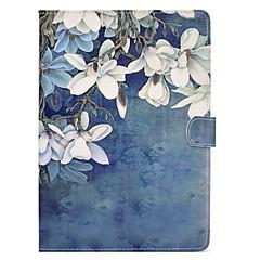baratos -para suporte de cartão de capa de caso com suporte flip padrão magnético caixa de corpo inteiro flor dura PU couro para maçã ipad pro 10.5