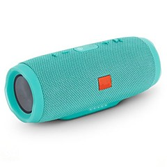 charge Exterior Bluetooth Microfone Interno Bluetooth 4.0 AUX 3.5mm Subwoofer Preto Carmesim Azul Claro