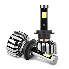 joyshine n7-h7 80w 8000lm ip68 6000k dc9-36v led lampen voor koplampen (2 stuks)