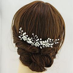 baratos Acessórios de Cabelo-cabelo dourado penteado festa de noiva estilo feminino elegante