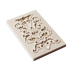 billige Bakeredskap-Bakeware verktøy Silikon Gummi / silica Gel / Silikon Non-Stick / baking Tool / 3D Til Småkake / Sjokolade / For kjøkkenutstyr Cake Moulds 1pc