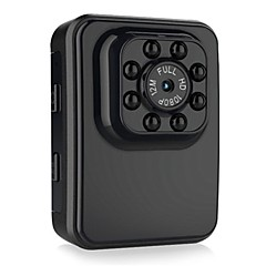 quelima r3 bil wifi mini dvr full HD kamera nattesyn med 8 led lys / 120 graders fov / loop-syklus opptak / støtter 32gb tf kort